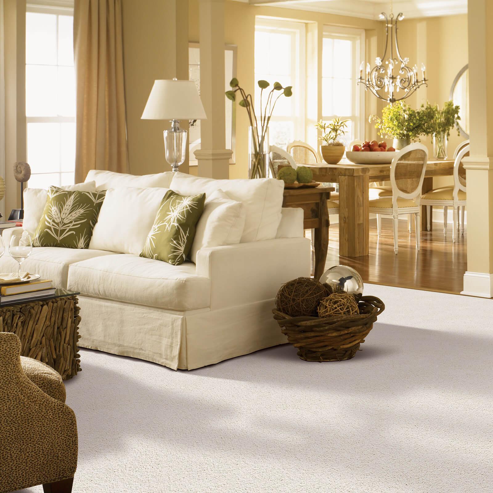 Living room interior | McSwain Carpet & Floors