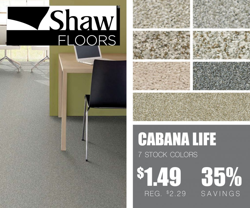 Cabana Life | McSwain Carpet & Floors