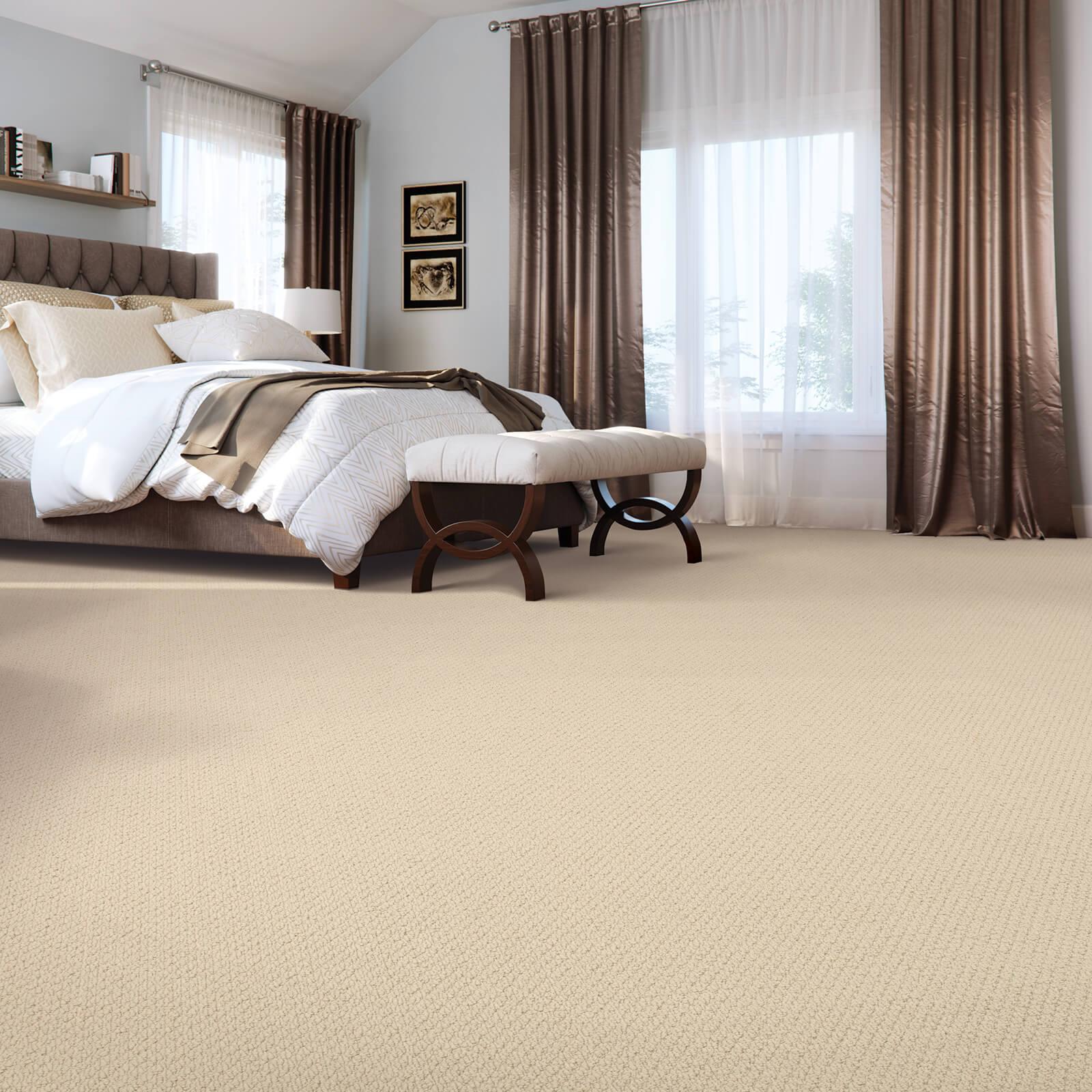 Casual beauty of spacious bedroom | McSwain Carpet & Floors