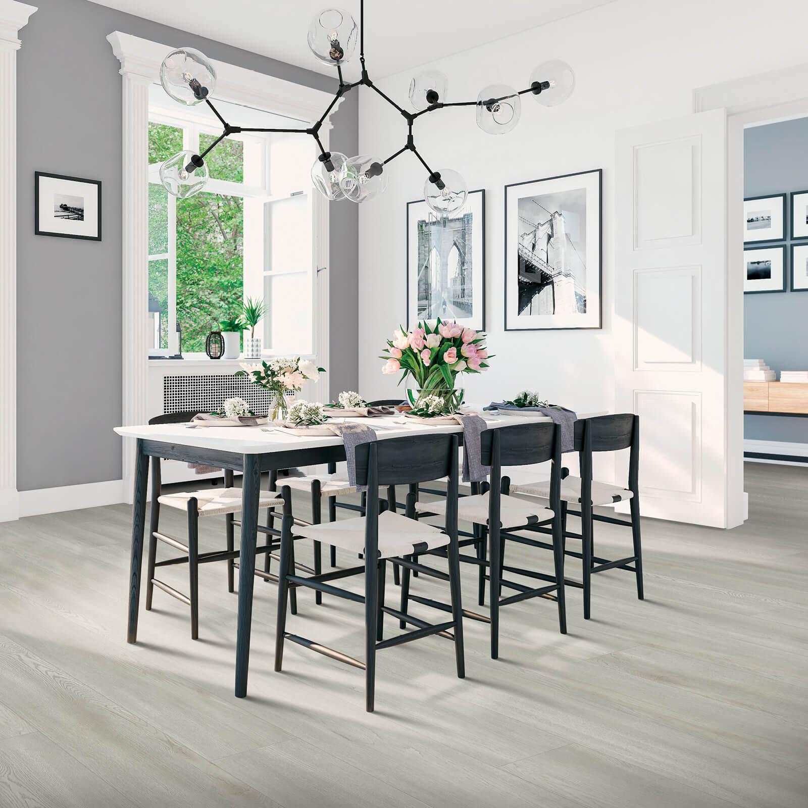 Dining room flooring | McSwain Carpet & Floors