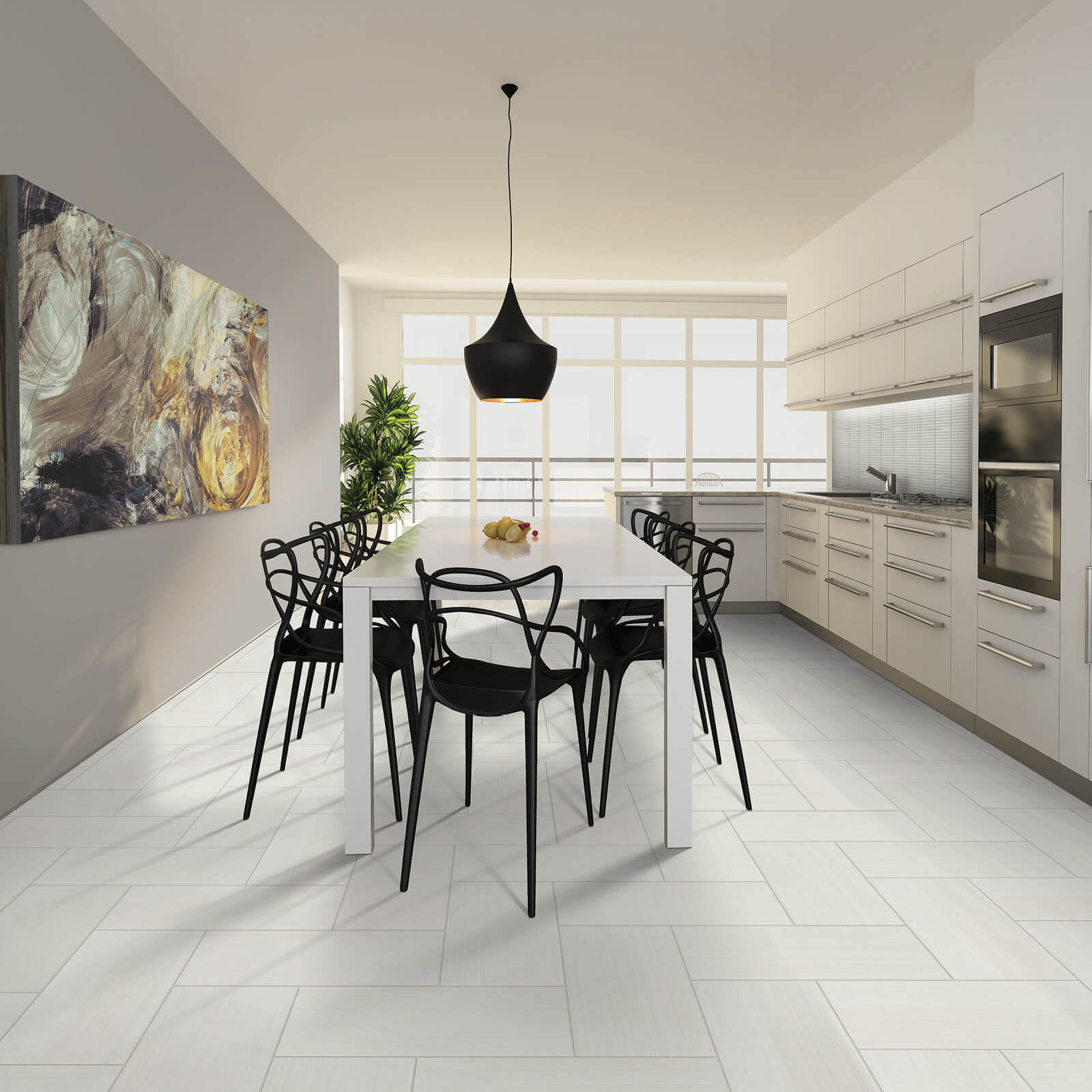 Dining room interior | McSwain Carpet & Floors