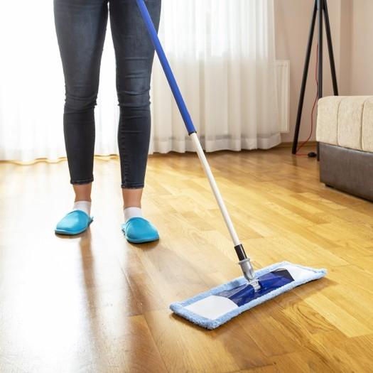Vinyl Floor cleaning | McSwain Carpet & Floors