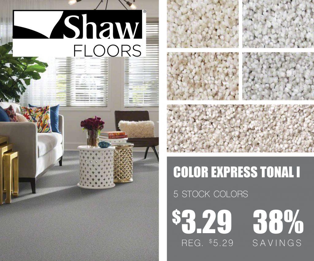 Shaw floors color express | McSwain Carpet & Floors
