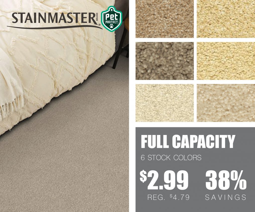 Stainmaster full capacity | McSwain Carpet & Floors