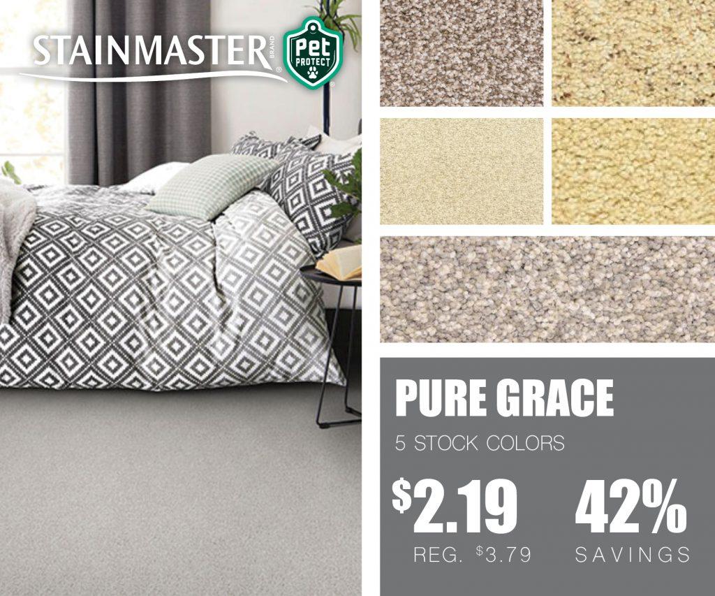 Stainmaster Pure grace | McSwain Carpet & Floors