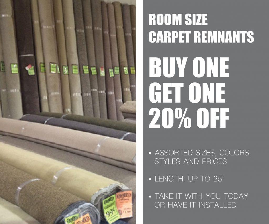 Room size carpet remnants | McSwain Carpet & Floors