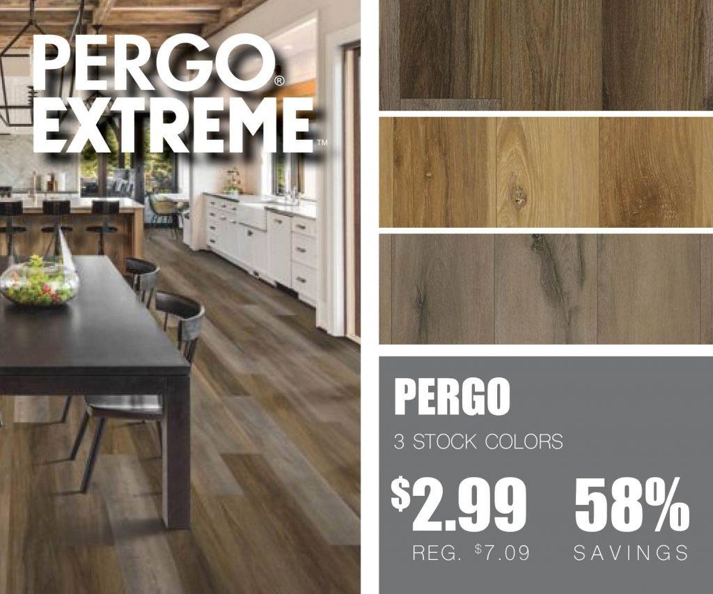 Pergo Extreme Wood Originals | McSwain Carpet & Floors