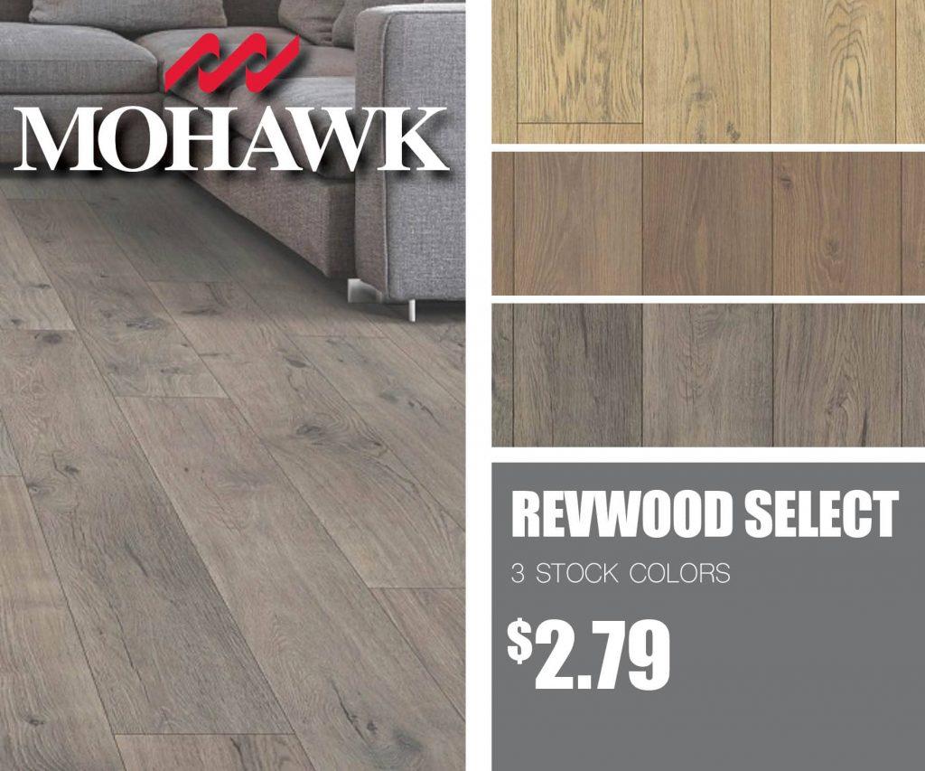 Mohawk RevWood Select Granbury Oak | McSwain Carpet & Floors