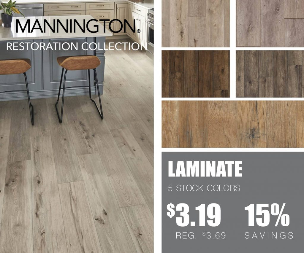 Mannington Restoration Collection | McSwain Carpet & Floors