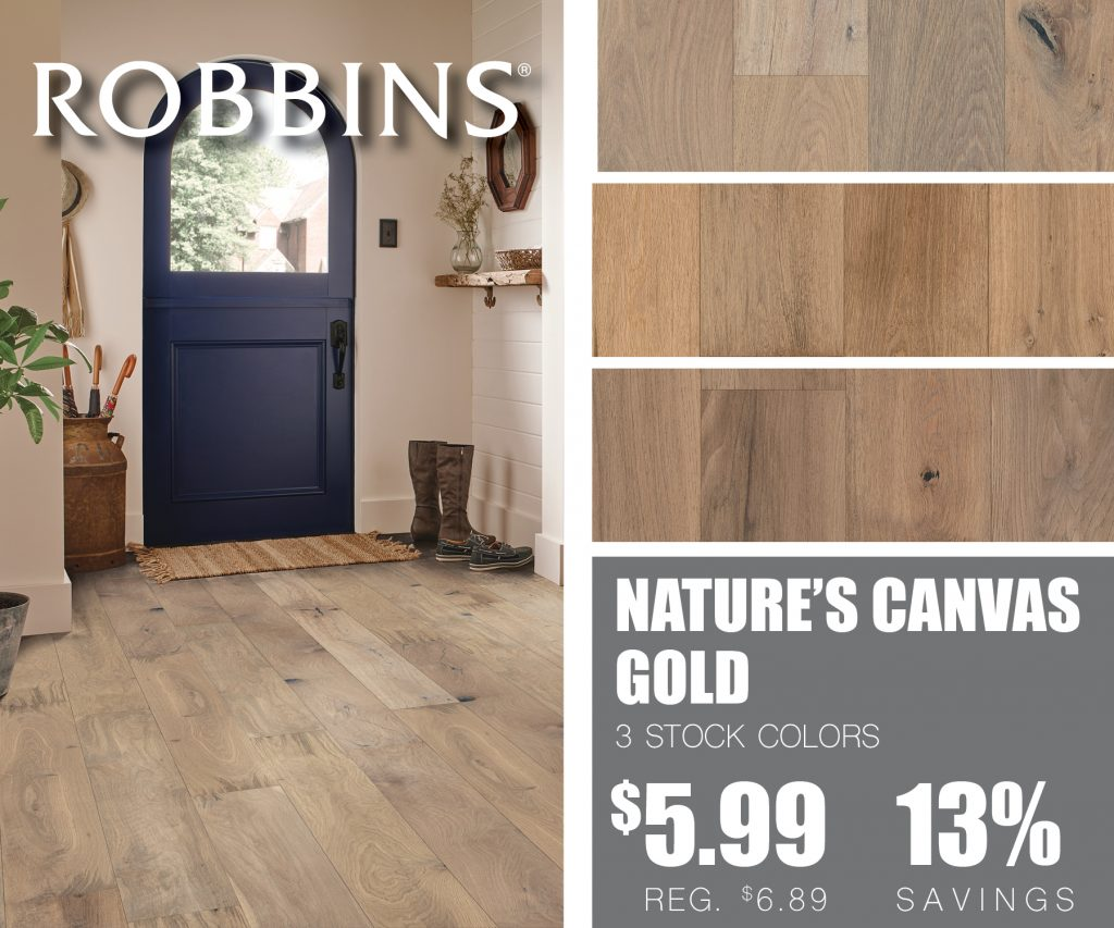 Robbins Nature's Canvas Platinum Hardwood | McSwain Carpet & Floors