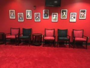 Red interior | McSwain Carpet & Floors