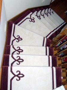 Stairway carpet | McSwain Carpet & Floors