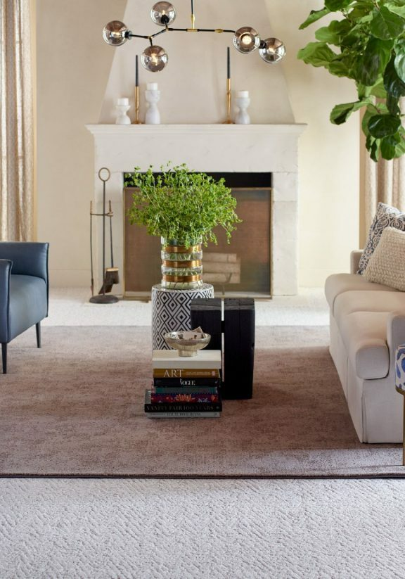Living room interior | McSwain Carpet & Floors