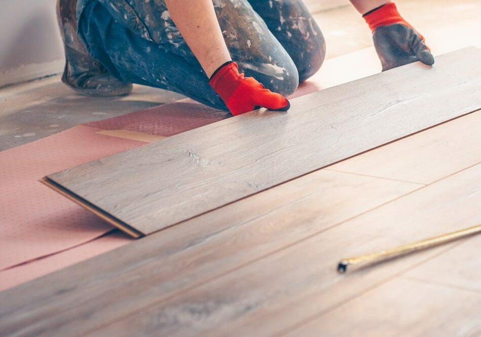 Hardwood installation | McSwain Carpet & Floors
