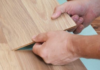 Installing laminate flooring   McSwain Carpet & Floors